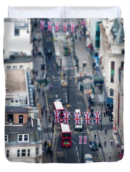 Miniature Oxford Street Duvet Cover