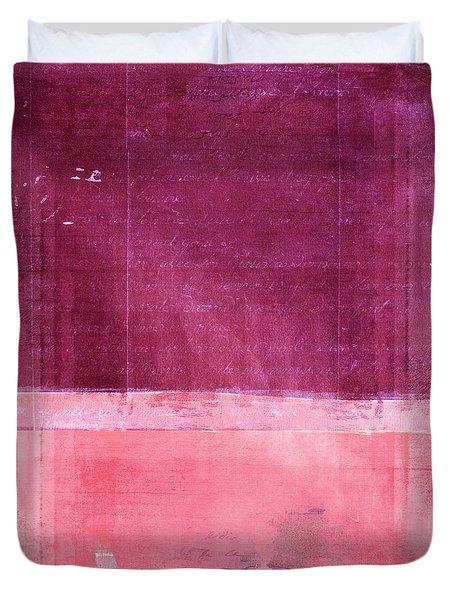 Minima - S02b Pink Duvet Cover