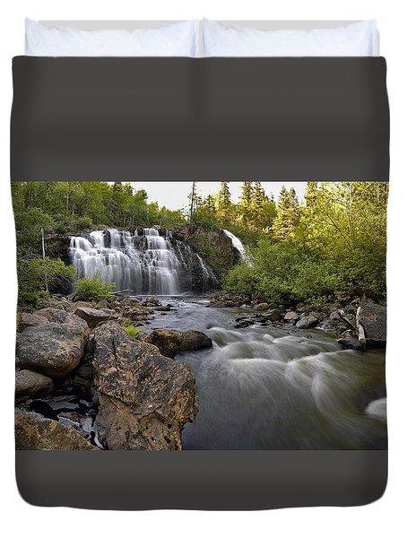 Mink Falls Duvet Cover