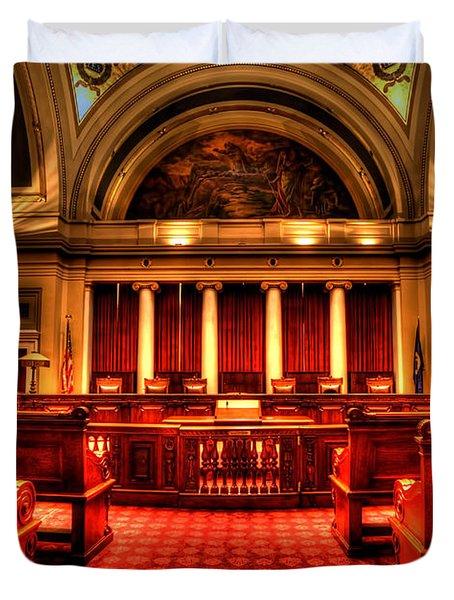 Minnesota Supreme Court Duvet Cover