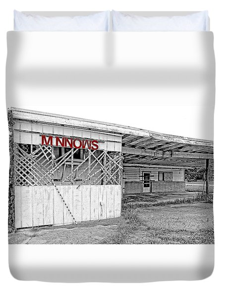 Minnow Shack Duvet Cover