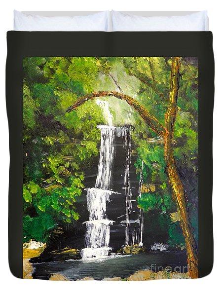 Minnumurra Falls Duvet Cover