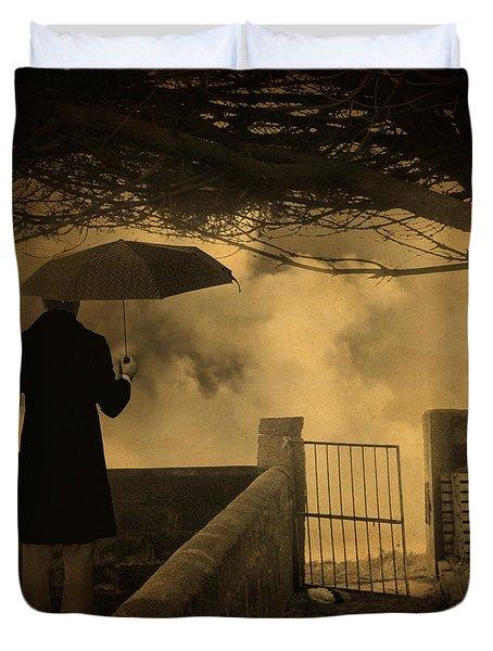 Miracle Duvet Cover by Taylan Apukovska