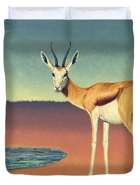 Mirage Duvet Cover by James W Johnson