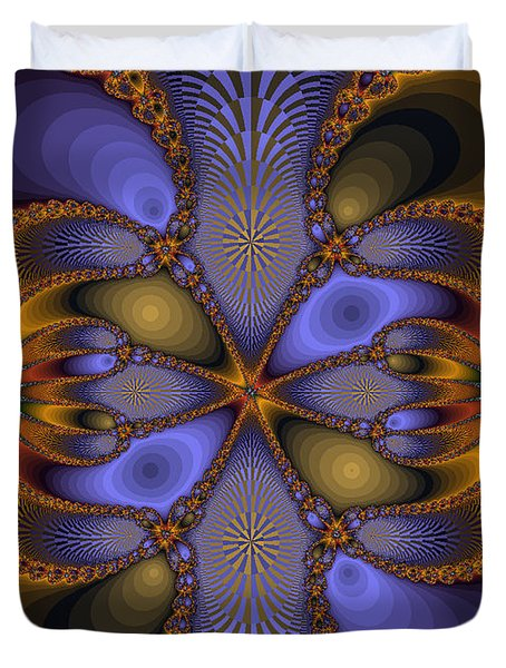 Mirror Butterfly Duvet Cover