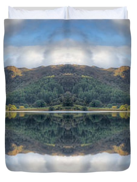 Mirror Lake Duvet Cover by Adrian Evans