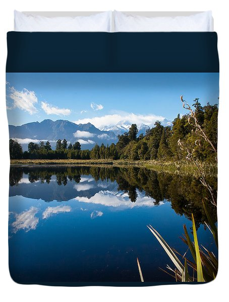 Mirror Landscapes Duvet Cover