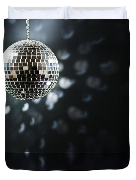 Mirrorball Duvet Cover