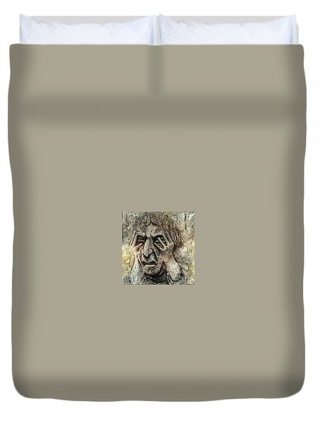 Misery Duvet Cover by Suzette Broad