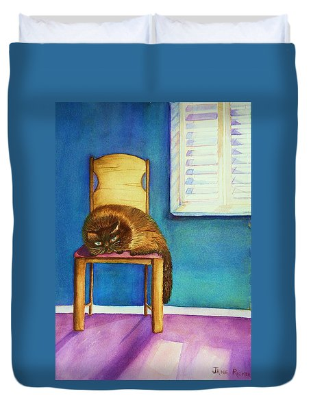 Kitty's Nap Duvet Cover