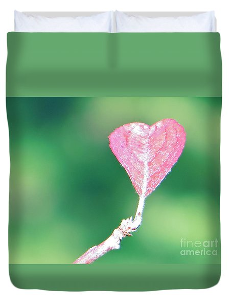 Duvet Cover featuring the photograph Miss Lonely Heart by Joy Hardee