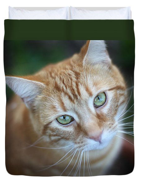 Miss Lucy Mcgillicuddy Duvet Cover by Melanie Lankford Photography