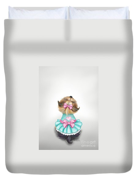 Miss Pretty Duvet Cover