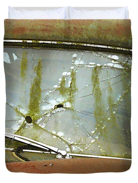 Missed Duvet Cover by Jean Noren