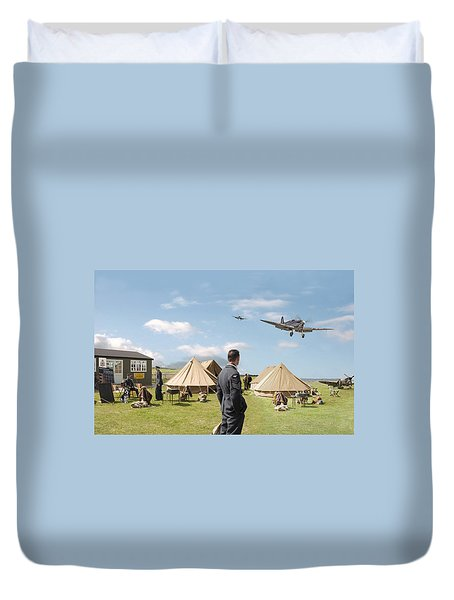 Missing Duvet Cover by Pat Speirs