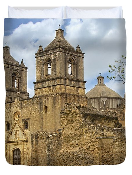 Mission Concepcion Duvet Cover