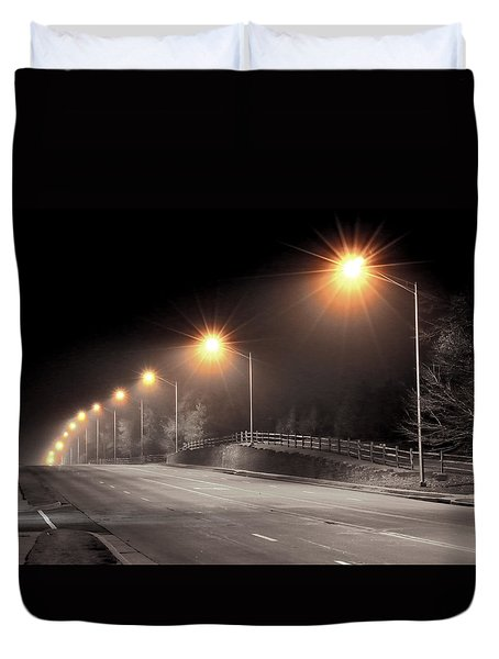Mission Road Duvet Cover