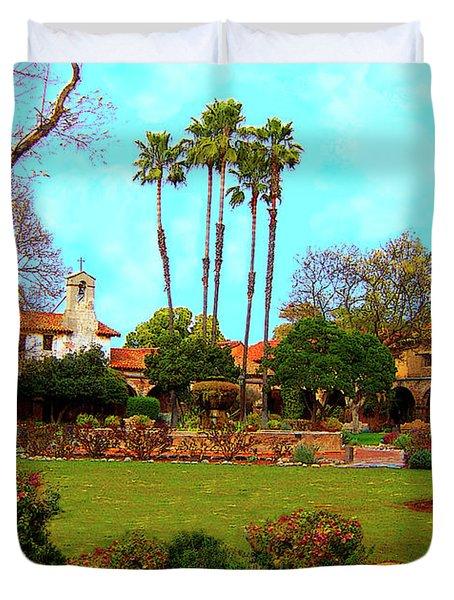 Mission San Juan Capistrano No 11 Duvet Cover