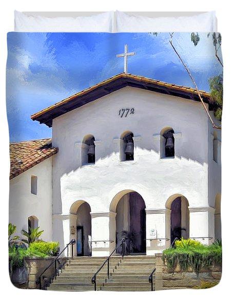 Mission San Luis Obispo De Tolosa Duvet Cover