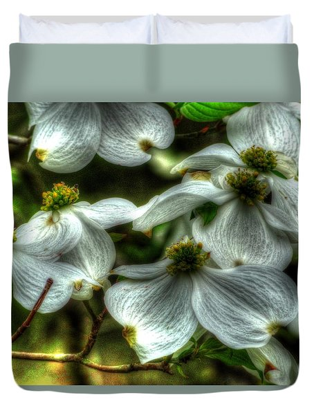 Mississippi Dogwood Duvet Cover