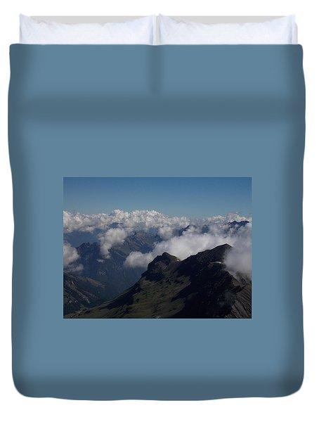 Mist From The Schilthorn Duvet Cover