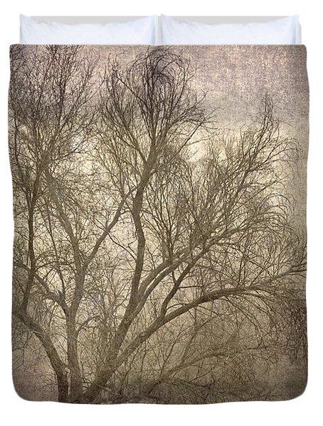 Mist Tree Duvet Cover by Guido Montanes Castillo