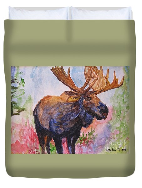 Mister Moose Duvet Cover