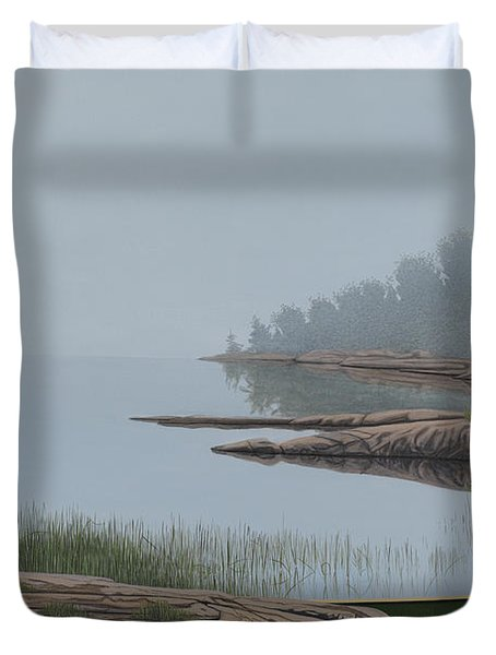 Mistified Duvet Cover by Kenneth M  Kirsch