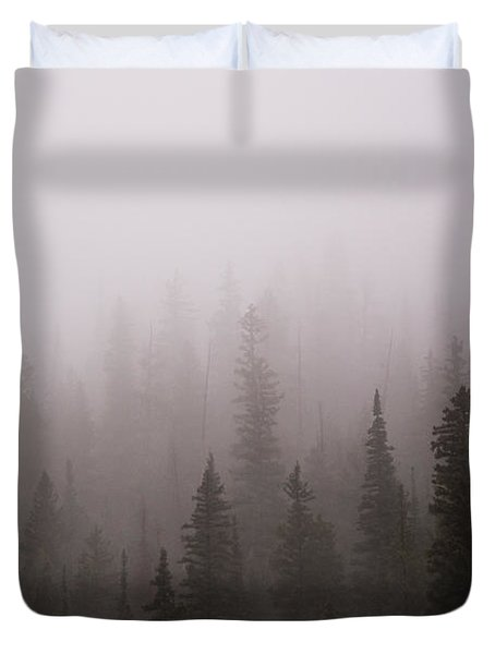 Misty Duvet Cover