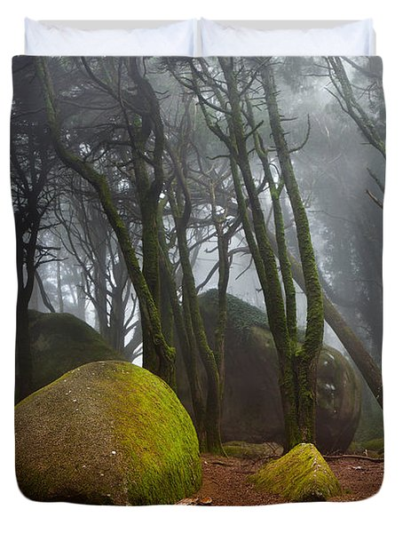 Misty Duvet Cover by Jorge Maia