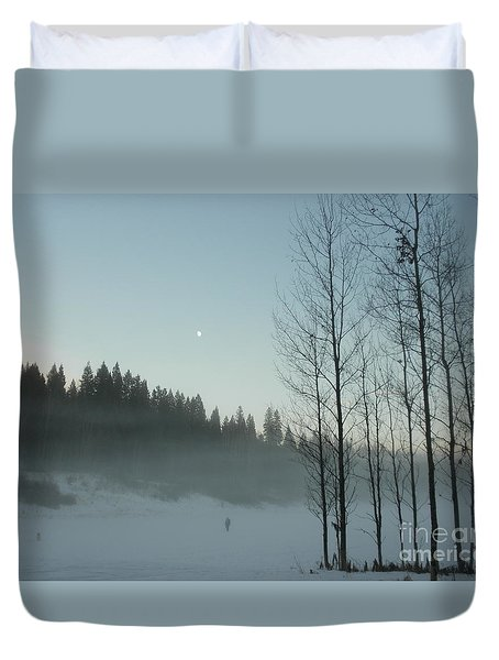 Misty Meadow Duvet Cover