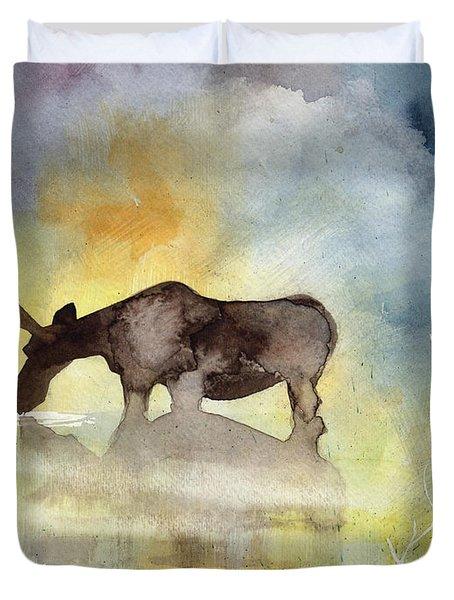 Misty Moose Minerva Duvet Cover