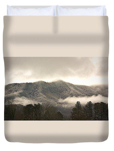 Misty Mountain Hop... Duvet Cover