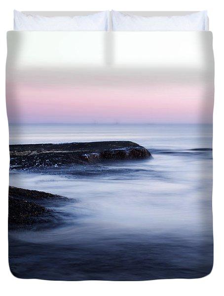 Misty Sea Duvet Cover