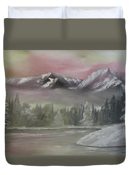 Misty Winter Duvet Cover