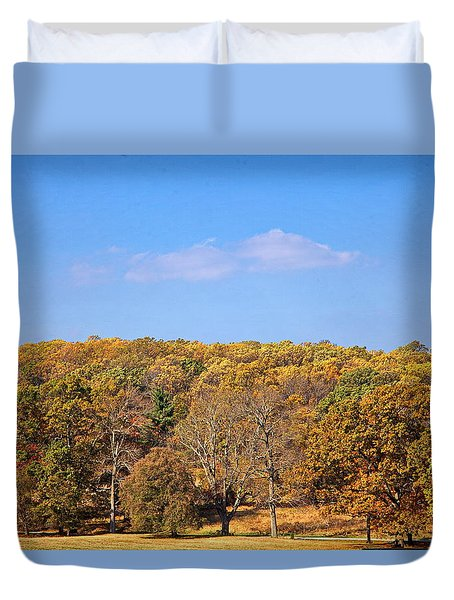 Mixed Fall Duvet Cover