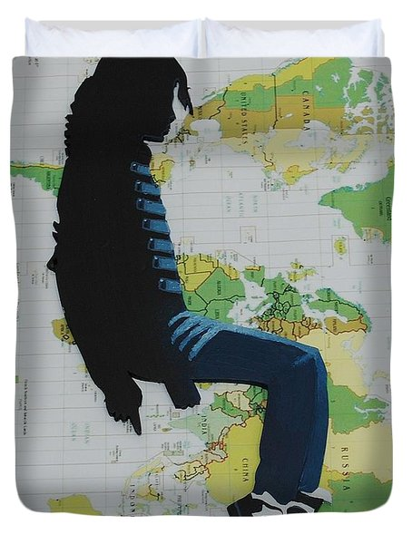 Mj They Dont Care Duvet Cover