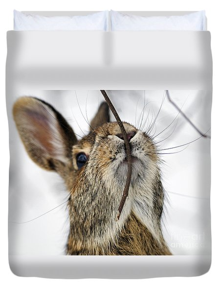 Mmm.. I Like Twiggy... Duvet Cover
