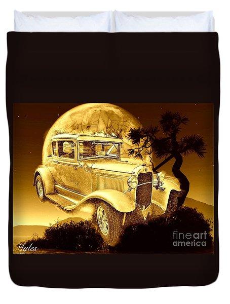 Model T Fantasy  Duvet Cover