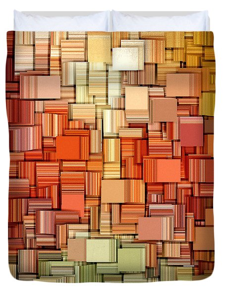 Modern Abstract Viii Duvet Cover by Lourry Legarde