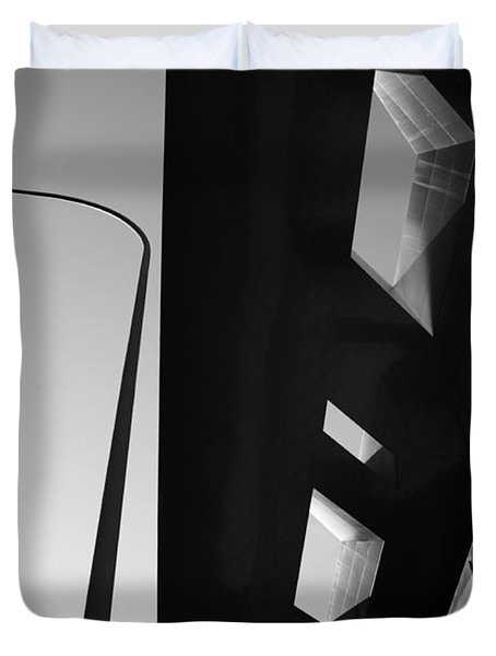 Duvet Cover featuring the photograph Modern Architecture by Craig B