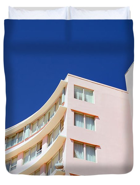 Duvet Cover featuring the photograph Modern Curves by Keith Armstrong