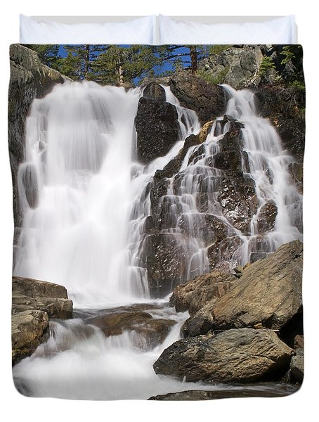 Modjesku Falls Duvet Cover