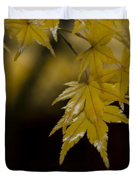 Moist Yellow Duvet Cover