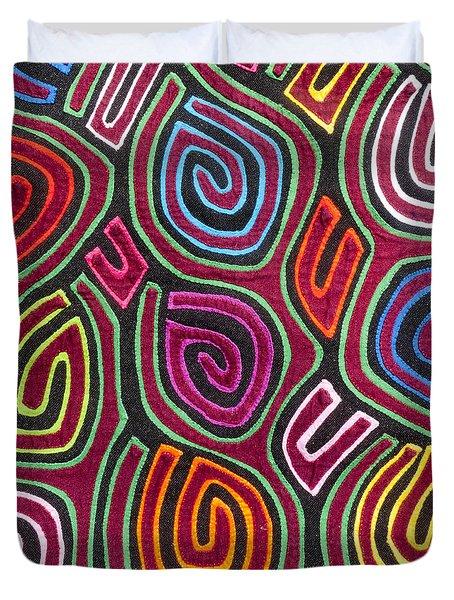 Mola Art Duvet Cover