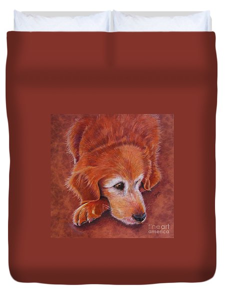 Mollie Duvet Cover by Marilyn Smith