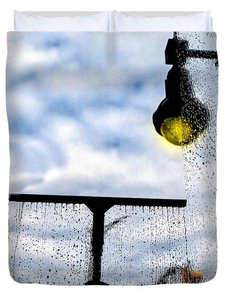 Molly's Window Duvet Cover by Bob Orsillo