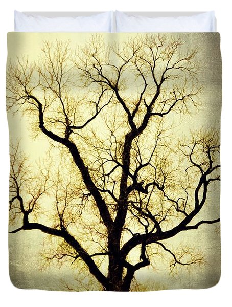 Molted Tree Duvet Cover by Marty Koch