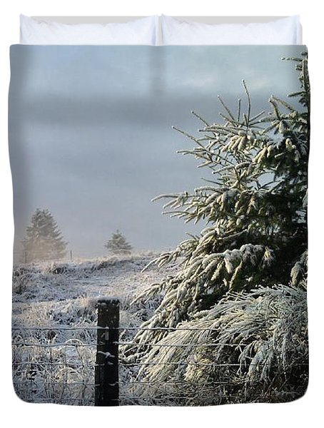 Duvet Cover featuring the photograph Moment Of Peace by Rory Sagner