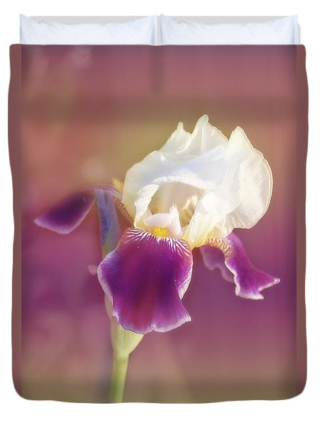 Duvet Cover featuring the photograph Moments In Time- Vivid Memories by Janie Johnson